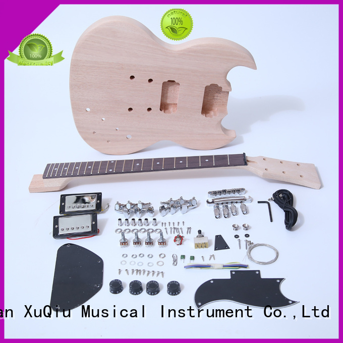 XuQiu unfinished guitar kits for sale manufacturer for performance