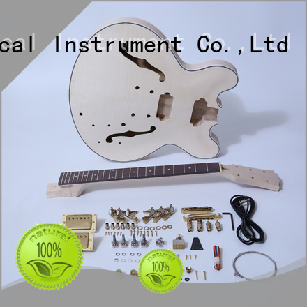 XuQiu diy electric guitar kits manufacturer for beginner