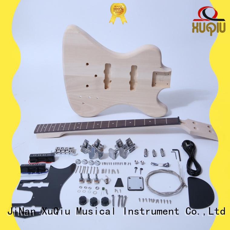 XuQiu electric 5 string bass kit manufacturer for kids