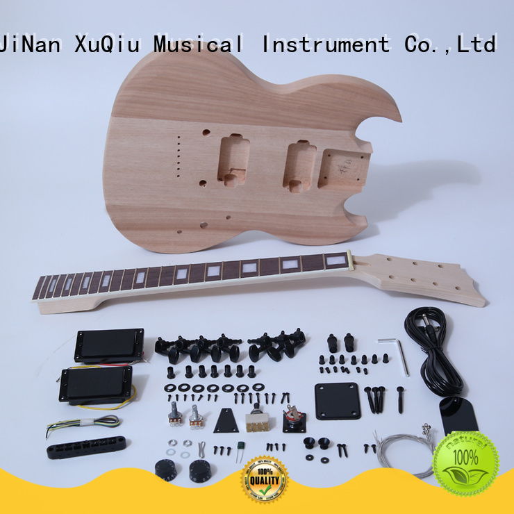 XuQiu les paul guitar kit supplier for beginner