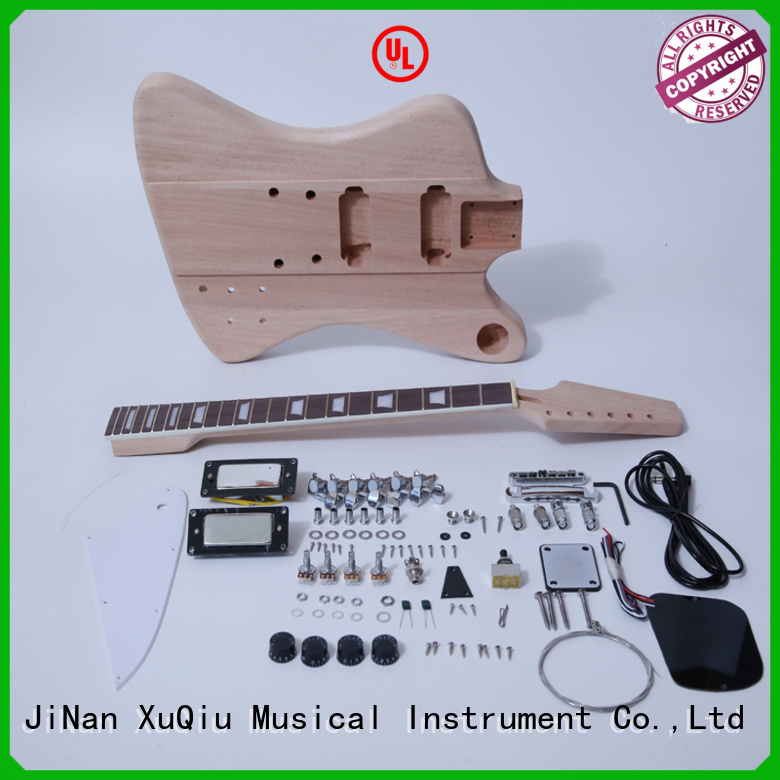 XuQiu unfinished acoustic guitar kit supplier for beginner