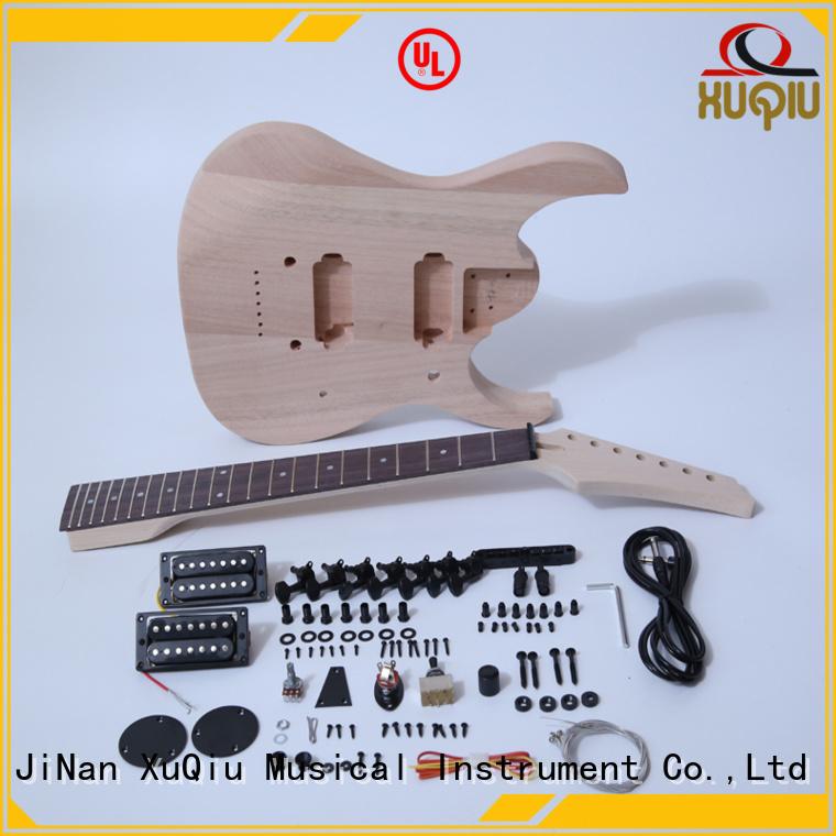 XuQiu unfinished do it yourself guitar kits manufacturer for kids