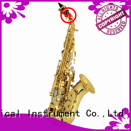 buy curved bell soprano saxophone manufacturer for concert