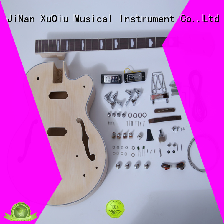 XuQiu snbk014 diy headless bass guitar kit woodwind instruments for student
