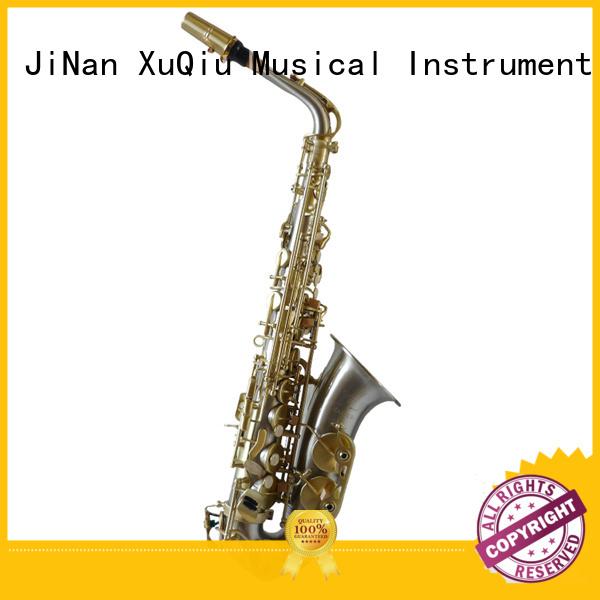 XuQiu custom cheap alto saxophone manufacturer for student