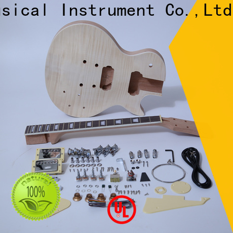 XuQiu sngk028dc build your own les paul guitar kit manufacturer for performance