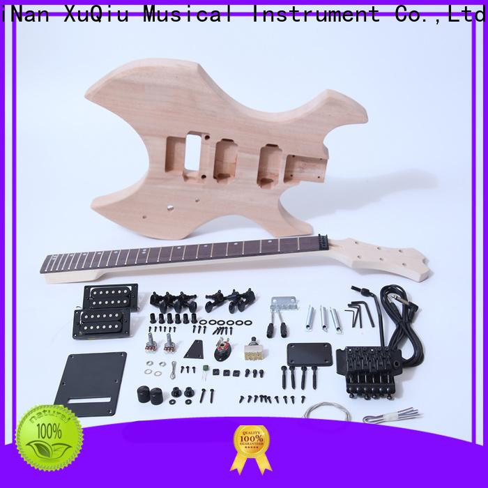XuQiu beginner 12 string acoustic guitar kit supplier for concert