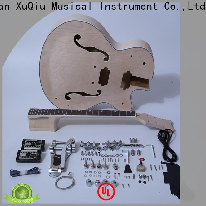XuQiu best semi hollow body guitar kit supplier for beginner