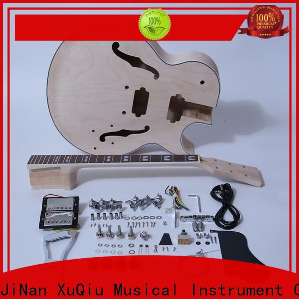 Wholesale semi acoustic guitar kit sg manufacturer for performance