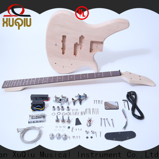XuQiu snbk009 build your own bass guitar kit woodwind instruments for competition