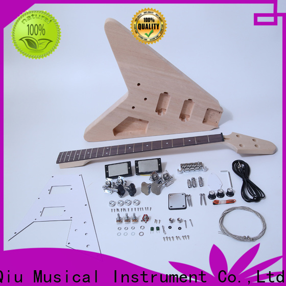 XuQiu 70s beginner bass guitar kits manufacturer for competition