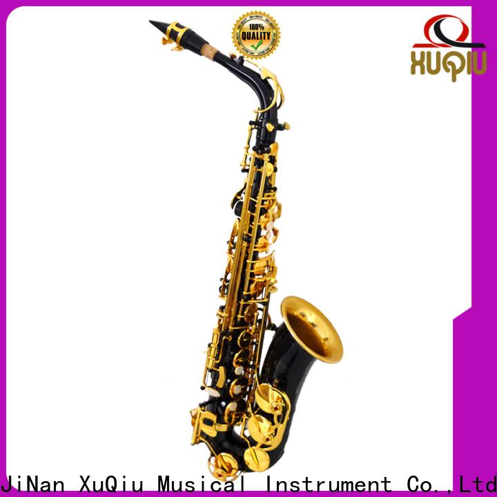Wholesale silver alto saxophone intermediate for sale for student