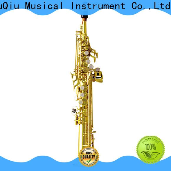 XuQiu best intermediate soprano saxophone for sale for concert