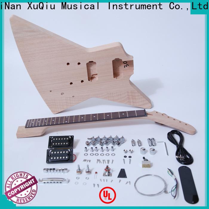 XuQiu sngk008 12 string guitar kit manufacturer for performance