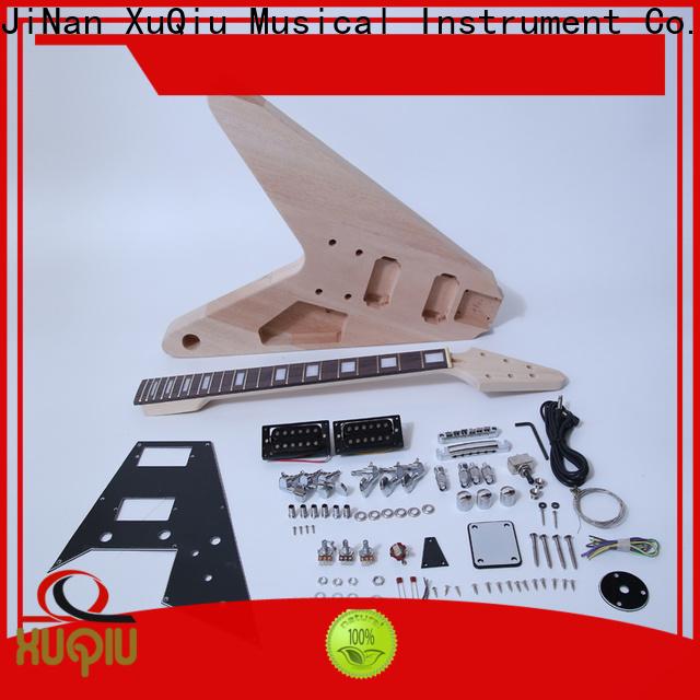 XuQiu premium semi acoustic guitar kit supplier for performance