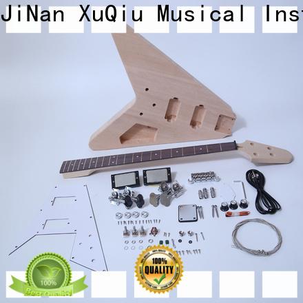 XuQiu diy acoustic bass guitar kit manufacturer for beginner