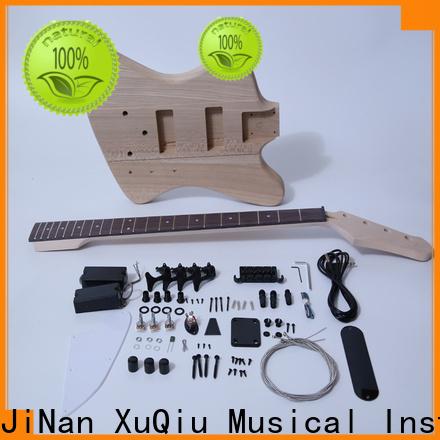 unfinished fretless bass guitar kit kitshollow manufacturer for concert
