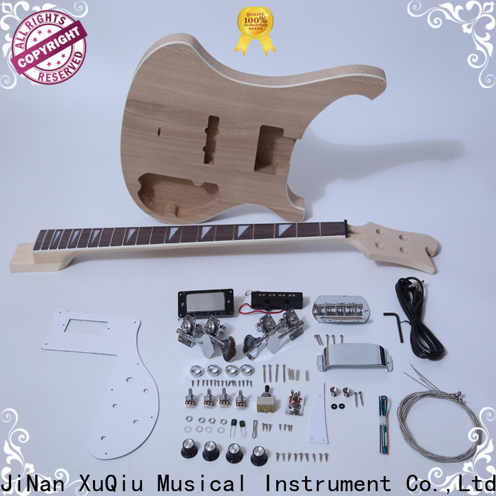 XuQiu custom short scale bass guitar kit manufacturer for competition