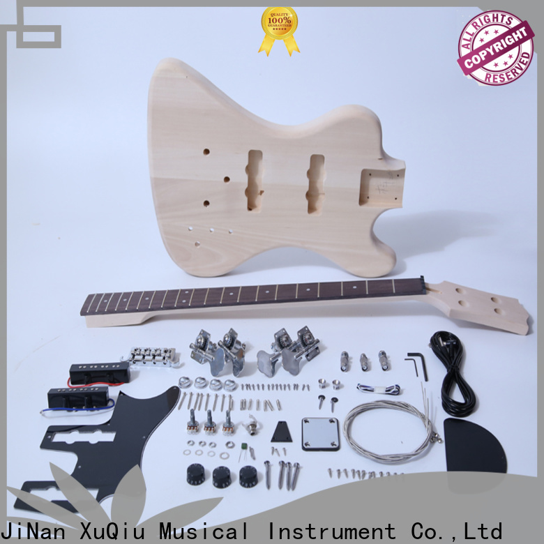 XuQiu snbk005 left handed bass guitar kit for sale for competition