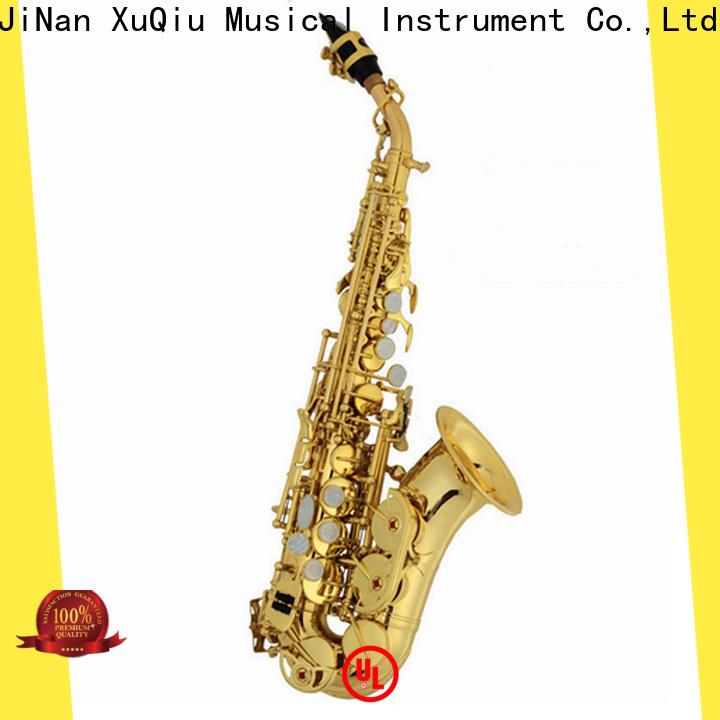 XuQiu xbn1001 cannonball curved soprano saxophone manufacturer for beginner