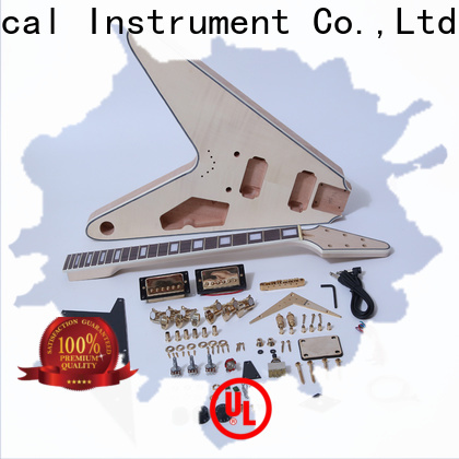 XuQiu diy build your own hollow body guitar kit for sale for beginner