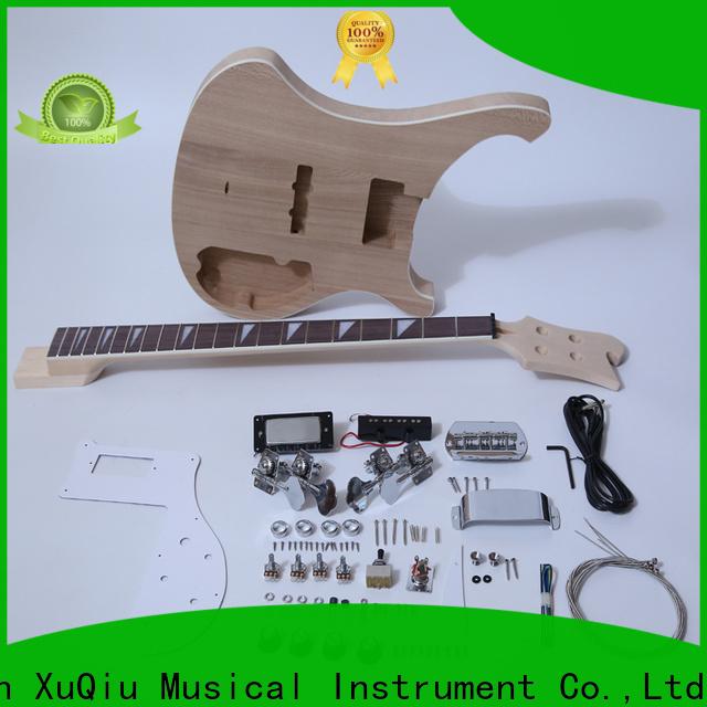 XuQiu kits semi hollow bass kit for sale for kids
