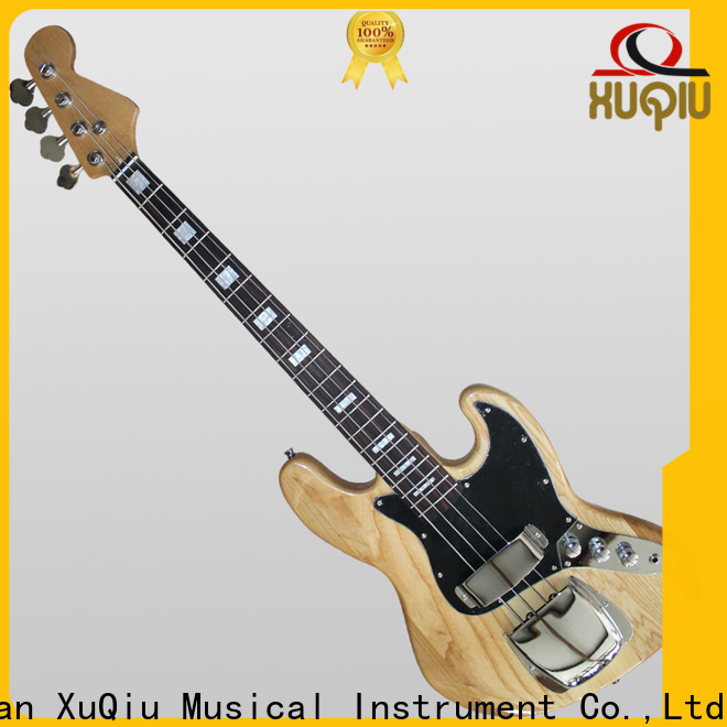 XuQiu good best acoustic electric bass guitar sound for competition