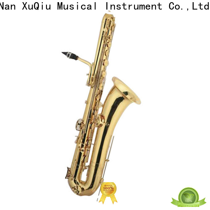 XuQiu bass subcontrabass saxophone for sale supplier for band