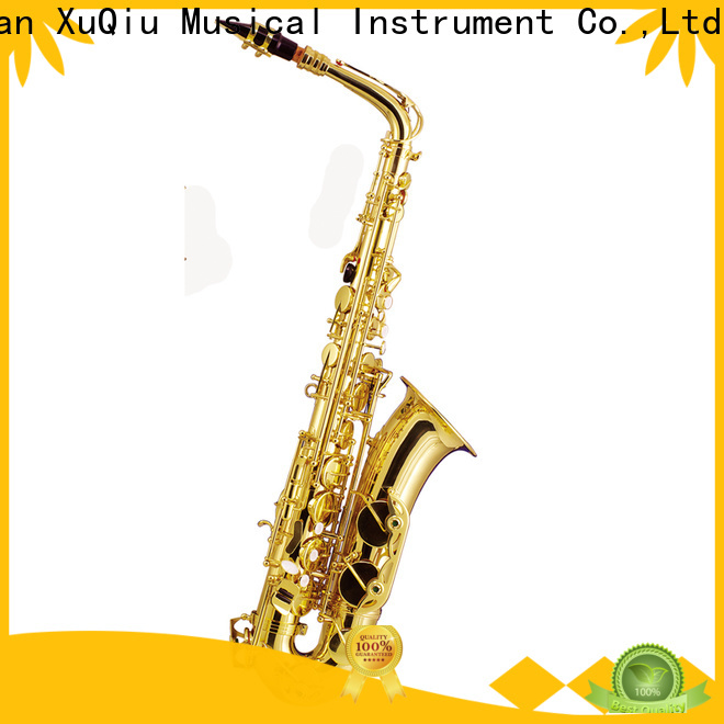 XuQiu new new alto saxophone for sale manufacturer for beginner