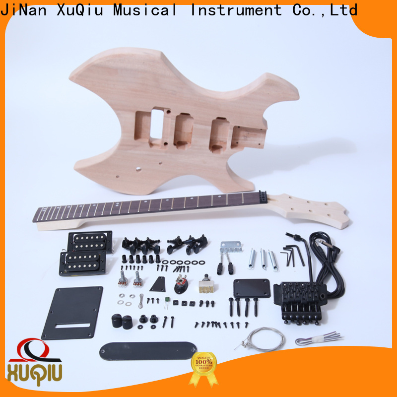 Wholesale build your own hollow body guitar kit build for sale for beginner