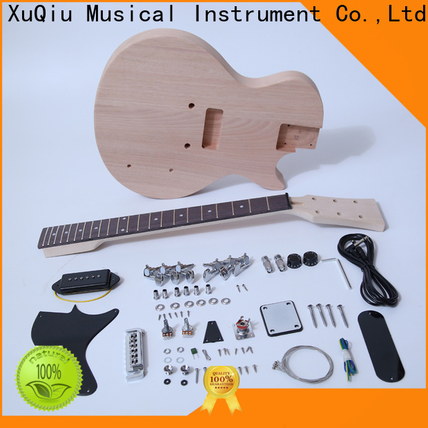 XuQiu classical diy electric guitar kits for sale for beginner