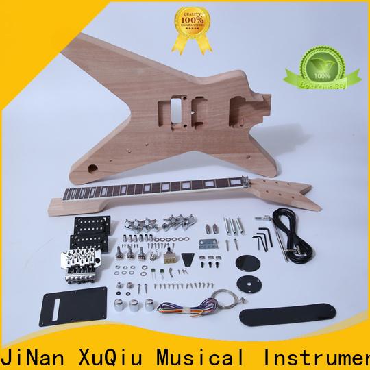 XuQiu quality semi hollow body guitar kit manufacturer for beginner