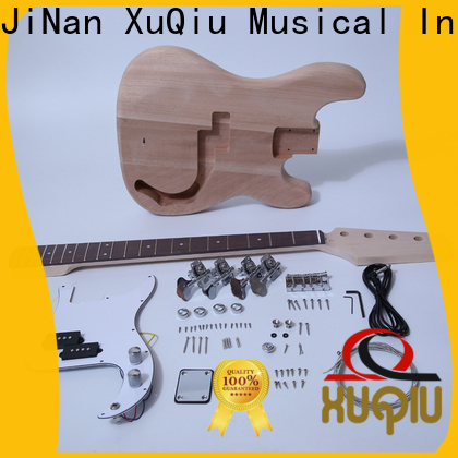 XuQiu custom diy acoustic bass guitar kit for sale for beginner