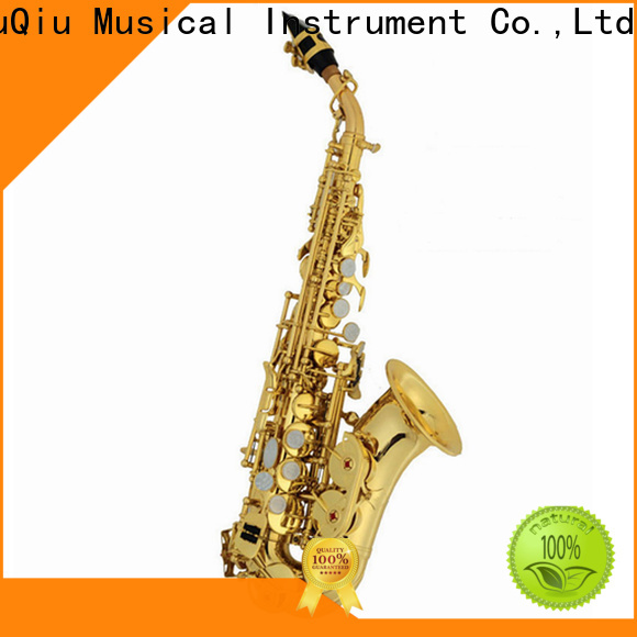 XuQiu saxophone curved soprano saxophone for sale manufacturer for student