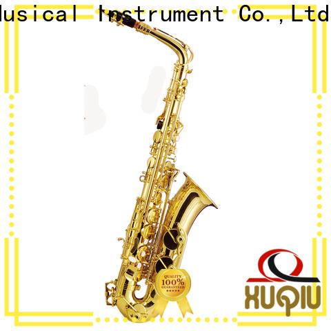 XuQiu best good alto saxophone brands for concert