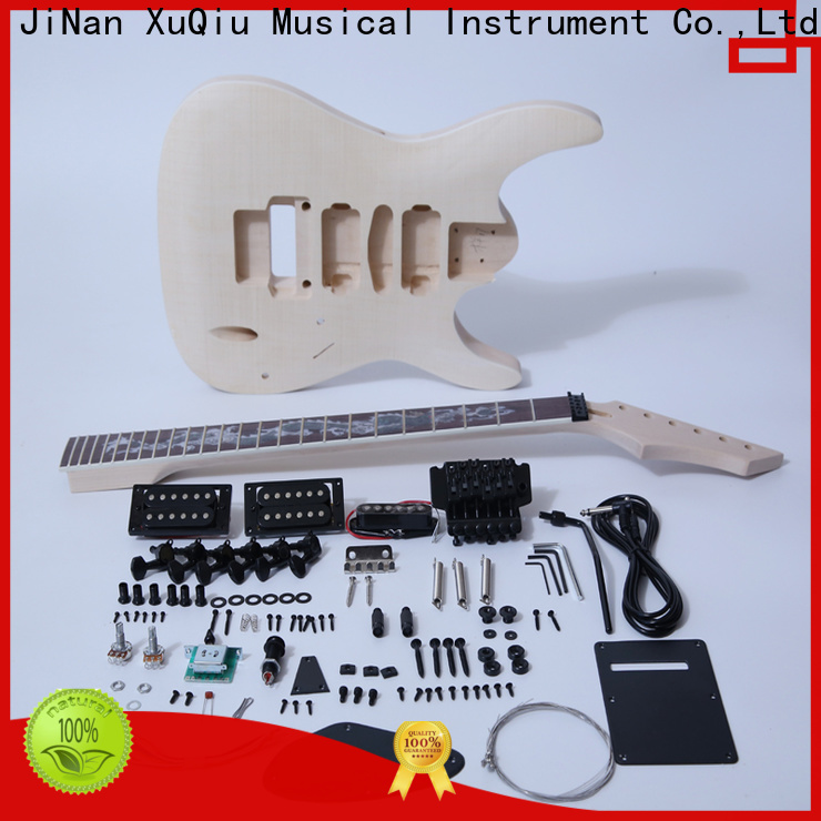 high end acoustic archtop guitar kit bass supplier for kids