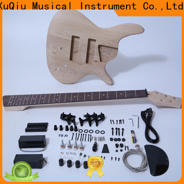 XuQiu Wholesale left handed bass kit for sale for concert