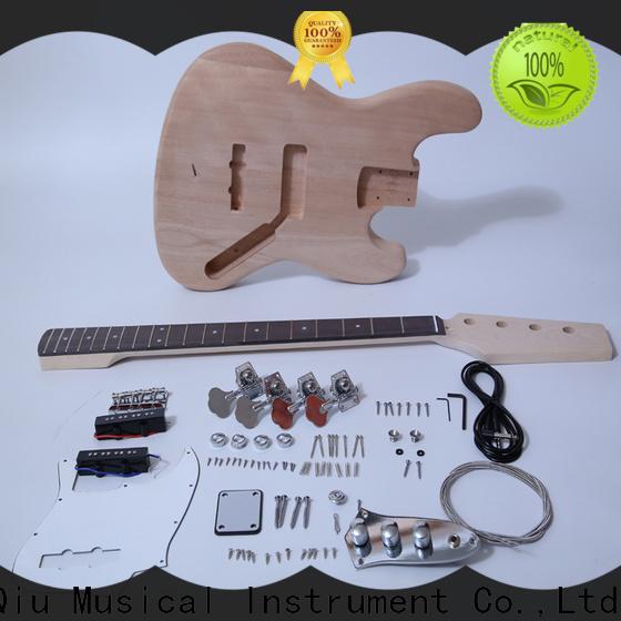XuQiu kitssemi hollow body bass kit manufacturer for kids