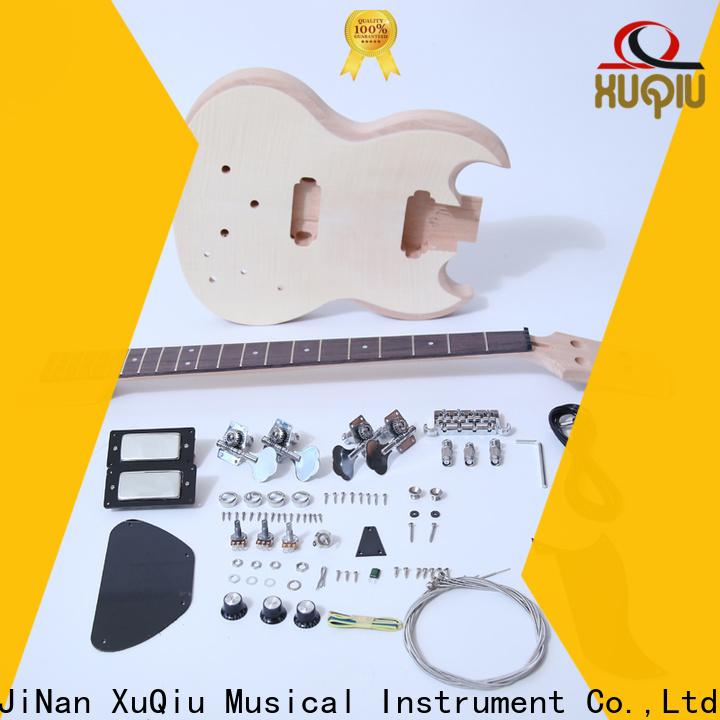 XuQiu custom semi hollow bass kit manufacturer for beginner