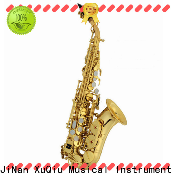 XuQiu high end curved soprano saxophone prices for sale for kids