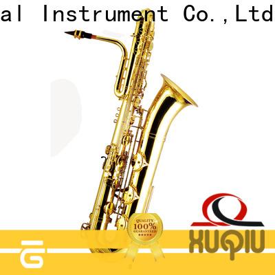 XuQiu saxophone china bass saxophone supplier for band