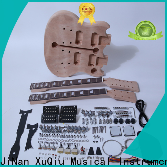 XuQiu own acoustic archtop guitar kit company for performance