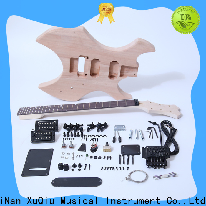 XuQiu unfinished best headless guitar kit for sale for concert