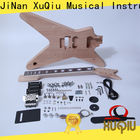 XuQiu sngk063w flying v guitar kit factory for concert