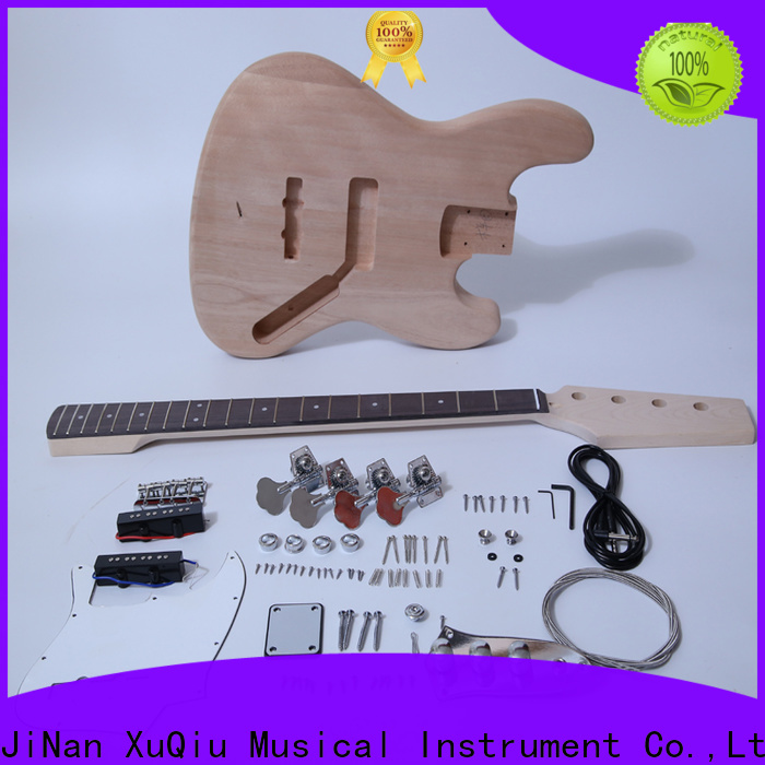 XuQiu kit starter bass guitar kit company for competition