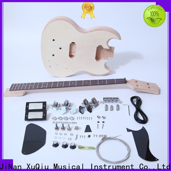 XuQiu latest electric upright bass kit factory for beginner
