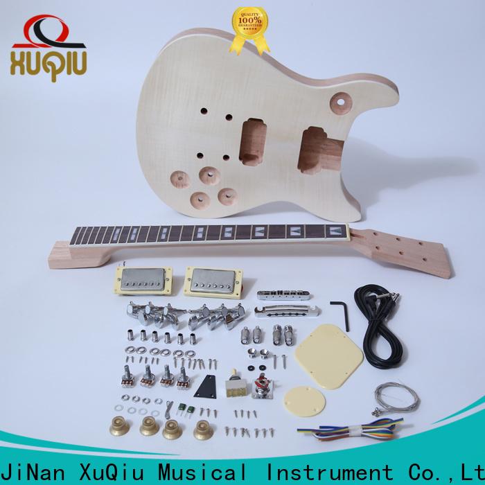 XuQiu single diy guitar kits electric supply for performance