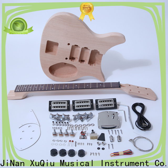 XuQiu top t style guitar kit for business for beginner