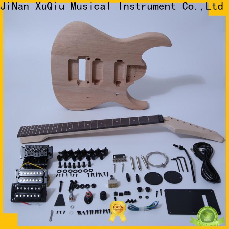 XuQiu thinline evh frankenstrat guitar kit manufacturers for kids