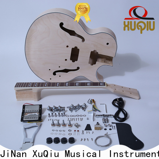 XuQiu high end build your own guitar kits manufacturers for performance